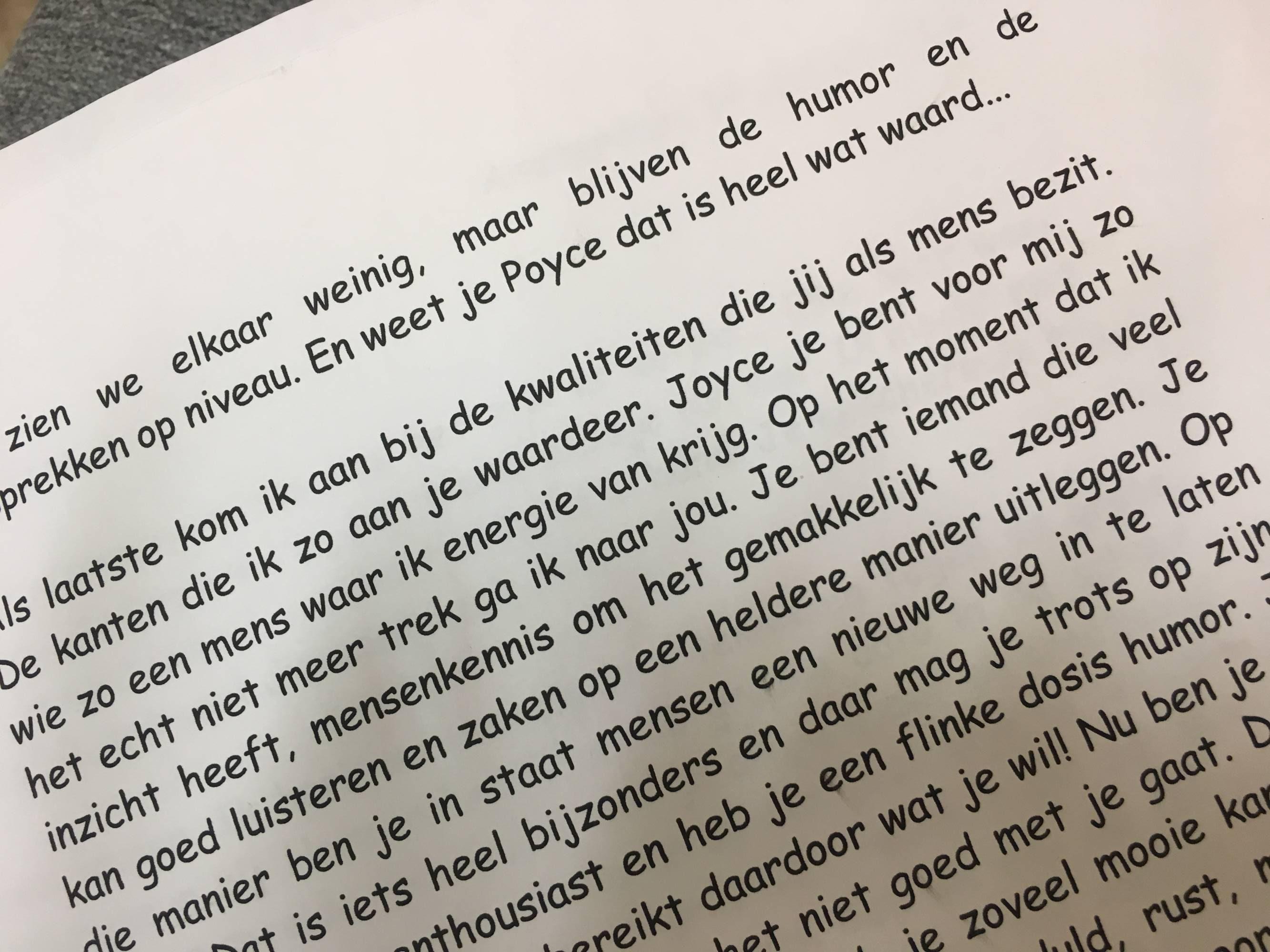 Brief Koppig