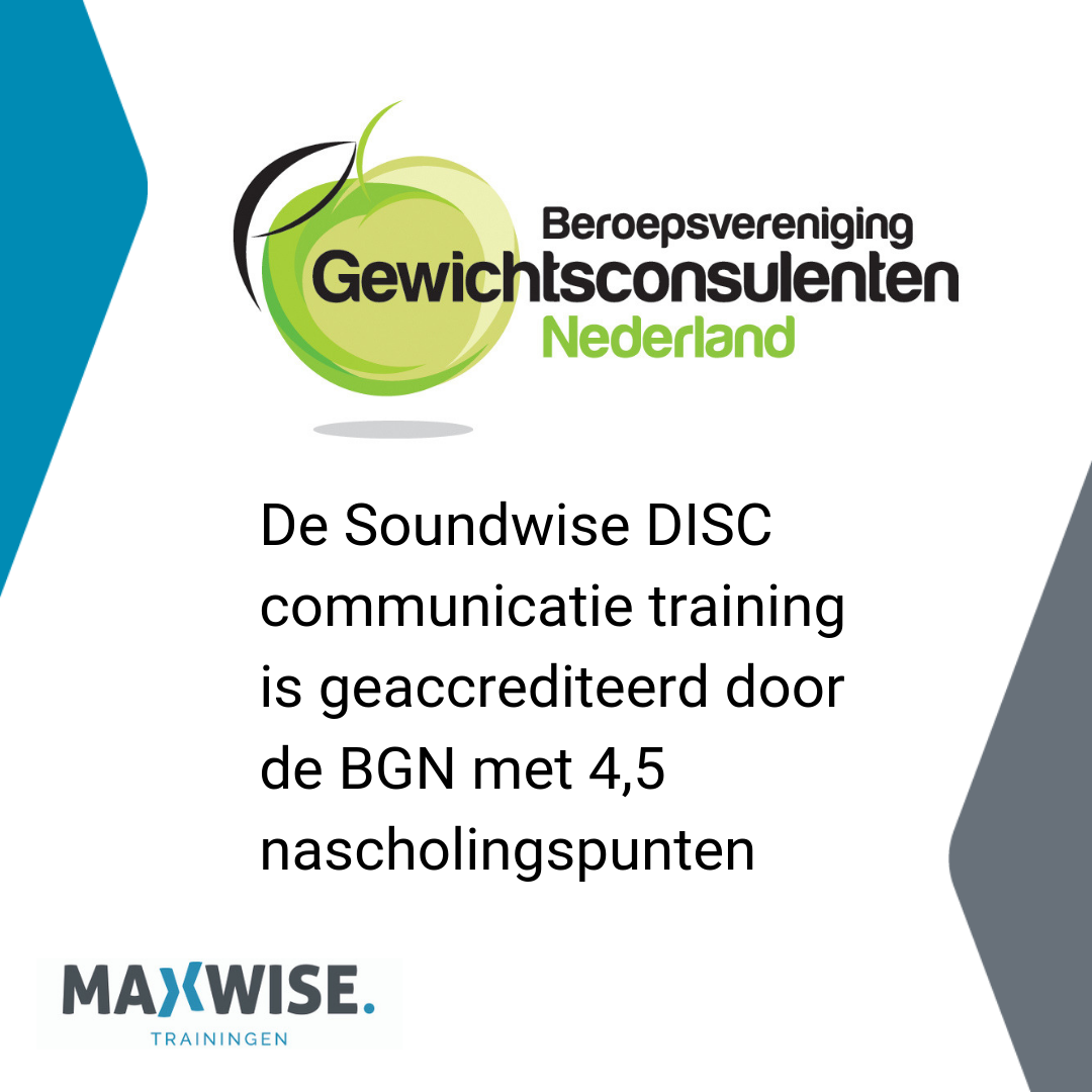 Soundwise Erkend Door BGN